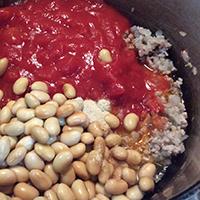 なすと豆のカレー