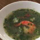 オクラとえびのスープ5