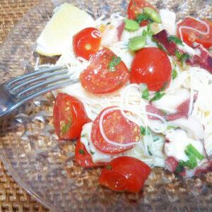 トマトのカッペリーニ