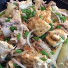 豆腐ときのこのチャンプルー